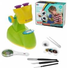 Детский микроскоп, 11 предметов Наша игрушка