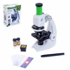 Игрушка детская микроскоп «Юный исследователь», с аксессуарами Sima-Land