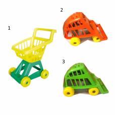 Игрушечная тележка для супермаркета Совтехстром