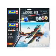 Набор со сборной моделью самолета Альбатрос D.III Revell
