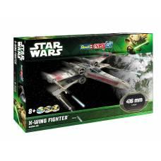 Сборная модель Star Wars - Звездный истребитель X-wing, 1:30 Revell