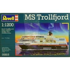 Сборная модель норвежского круизного лайнера MS Trollfjord, 1:1200 Revell