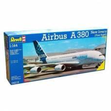 Модель для сборки аэробуса First Flight A 380, 1:144 Revell