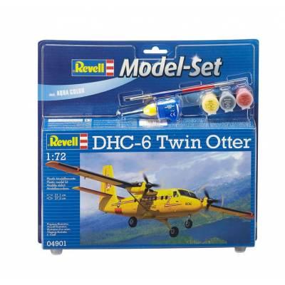 Подарочный набор со сборной моделью самолета DHC-6 Twin Otter, 1:72 Revell