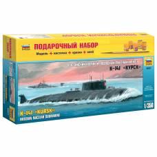 Подарочный набор со сборной моделью подводной лодки