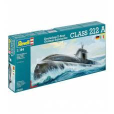 Сборная модель немецкой подводной лодки класса U212A, 1:144 Revell