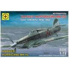 Сборная модель самолета Hawker Hurricane MK IIC, 1:72 Моделист