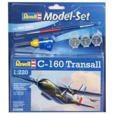 Набор со сборной моделью самолета Transport Allianz C.160 Transall, 1:220 Revell