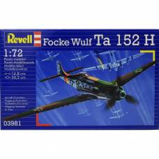 Модель самолета-перехватчика Focke Wulf Ta 152 H, 1:72 Revell