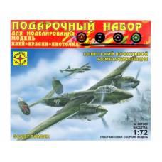 Подарочный набор для моделирования Soviet Bomber Ty-2, 1:72 Моделист