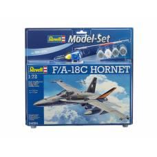 Подарочный набор со сборной моделью F/A-18C Hornet, 1:72 Revell