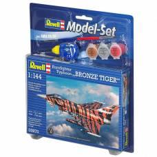 Подарочный набор с моделью истребителя