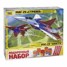 Подарочный набор со сборной моделью самолета