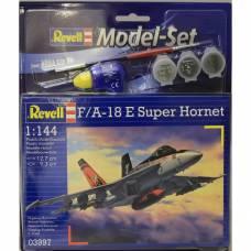 Подарочный набор со сборной моделью истребителя F/A-18E Super Hornet, 1:144 Revell