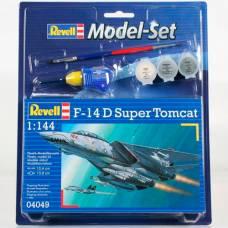 Подарочный набор для сборки модели самолета F-14D Super Tomcat, 1:144 Revell