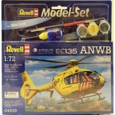 Подарочный набор со сборной моделью вертолета EC135 ANWB, 1:72 Revell