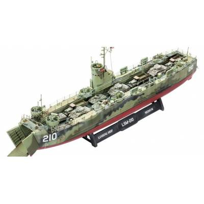Военный корабль U.S. Navy Landing Ship Medium, 1:144 Revell