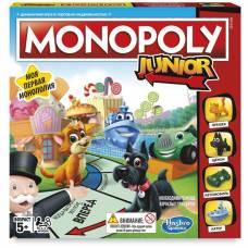 Моя первая Монополия Monopoly Junior Hasbro
