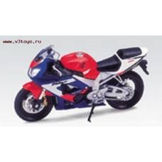 Мотоцикл Honda CBR900RR Fireblade, 1:18  Welly