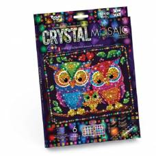 Набор для креативного творчества Cristal Mosaic - Совы Данко Тойс / Danko Toys