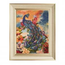 Мозаика из паеток на холсте