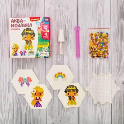 Аквамозаика для детей «Принцессы» Эврики