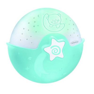Ночник-проектор для малышей, голубой Infantino