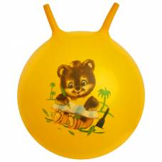 Мяч-попрыгун с рожками «Девчонки и Мальчишки», массажный, d=65 см, 600 г Sima-Land