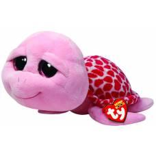 Мягкая игрушка Beanie Boo's - Черепашка Shellby, розовая, 25 см Ty Inc