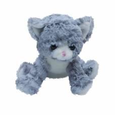 Мягкая игрушка Teddykompaniet Котенок 20 см, серый
