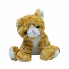 Мягкая игрушка Teddykompaniet котенок 20 см, бежевый
