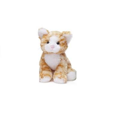 Мягкая игрушка Teddykompaniet котенок, рыжий, 23 см