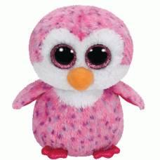 Мягкая игрушка Beanie Boo's - Пингвин Glider, розовый, 15 см Ty Inc