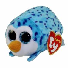 Мягкая игрушка Teeny Tys - Пингвин Gus, голубой, 10 см Ty Inc
