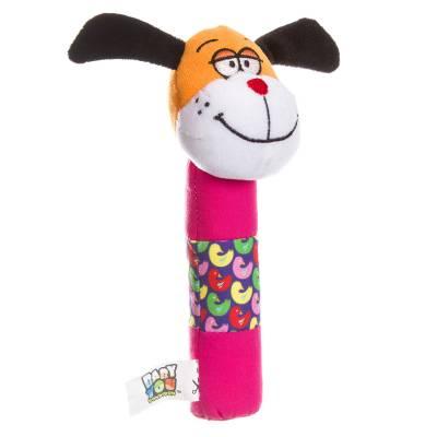 Мягкая игрушка-погремушка