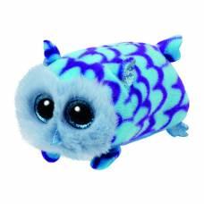 Мягкая игрушка Teeny Tys - Совенок Мими, голубой, 9 см Ty Inc