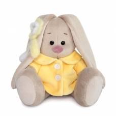 Мягкая игрушка «Зайка Ми» в жёлтом меховом пальто, 15 см Зайка Ми