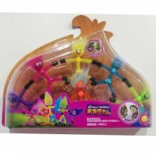 Игровой набор из 6 гибких игрушек