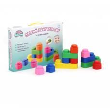 Мягкий конструктор для малышей, 14 деталей Elefantino