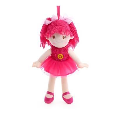 Мягкая кукла 35 см, воспроизводит стихи и песенки на стихи А. Барто Мульти-Пульти