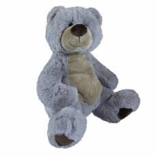Мягкая игрушка Teddykompaniet медвежонок Альфред, серый, 32 см