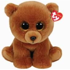 Мягкая игрушка Classic - Коричневый мишка Brownie, 22 см Ty Inc
