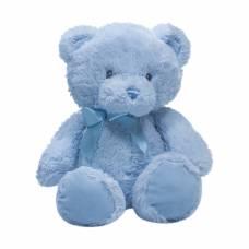 Мягкая игрушка Teddykompaniet Голубой мишка с бантом, 26 см