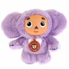 Мягкая музыкальная игрушка «Чебурашка», цвет фиолетовый, 17 см Мульти-Пульти