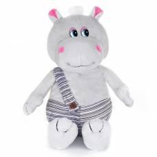 Мягкая музыкальная игрушка «Бегемотик в штанишках», 20 см MAXIPLAY