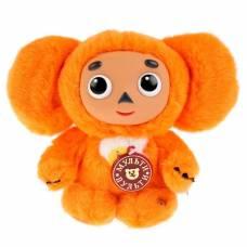 Мягкая музыкальная игрушка «Чебурашка», цвет оранжевый, 17 см Мульти-Пульти