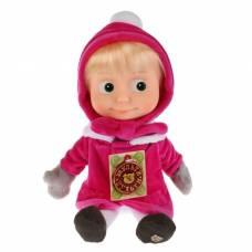 Мягкая музыкальная кукла «Маша» в зимней одежде, 29 см Мульти-Пульти