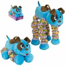 Мягкая функциональная игрушка «Голубой Щенок», 23-58 см, звуковые эффекты 1TOY