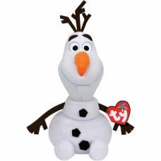 Мягкая игрушка Frozen - Снеговик Олаф (звук), 33 см Ty Inc