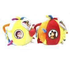 Плюшевый шар-погремушка